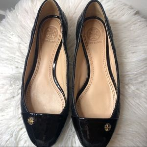Tory Burch Claremont Quilted Flats